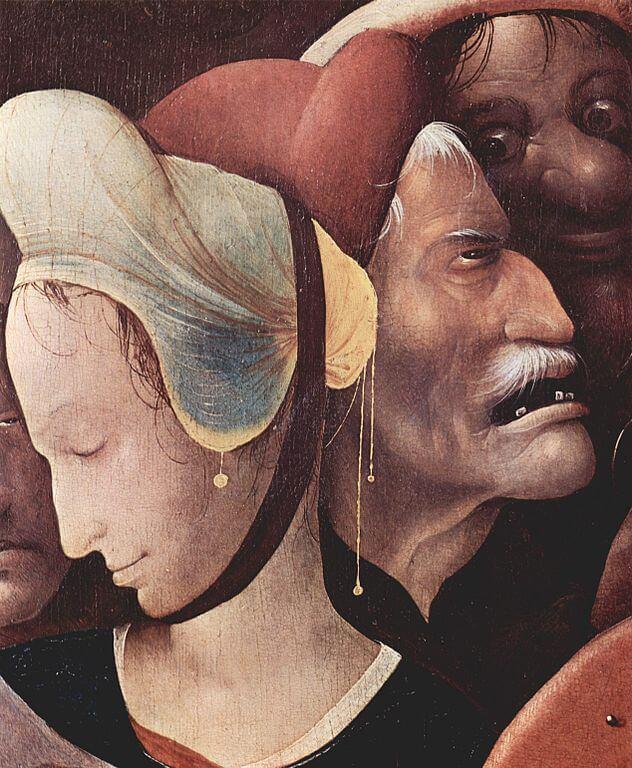 Bosch. Christ Carrying the Cross. Ghent