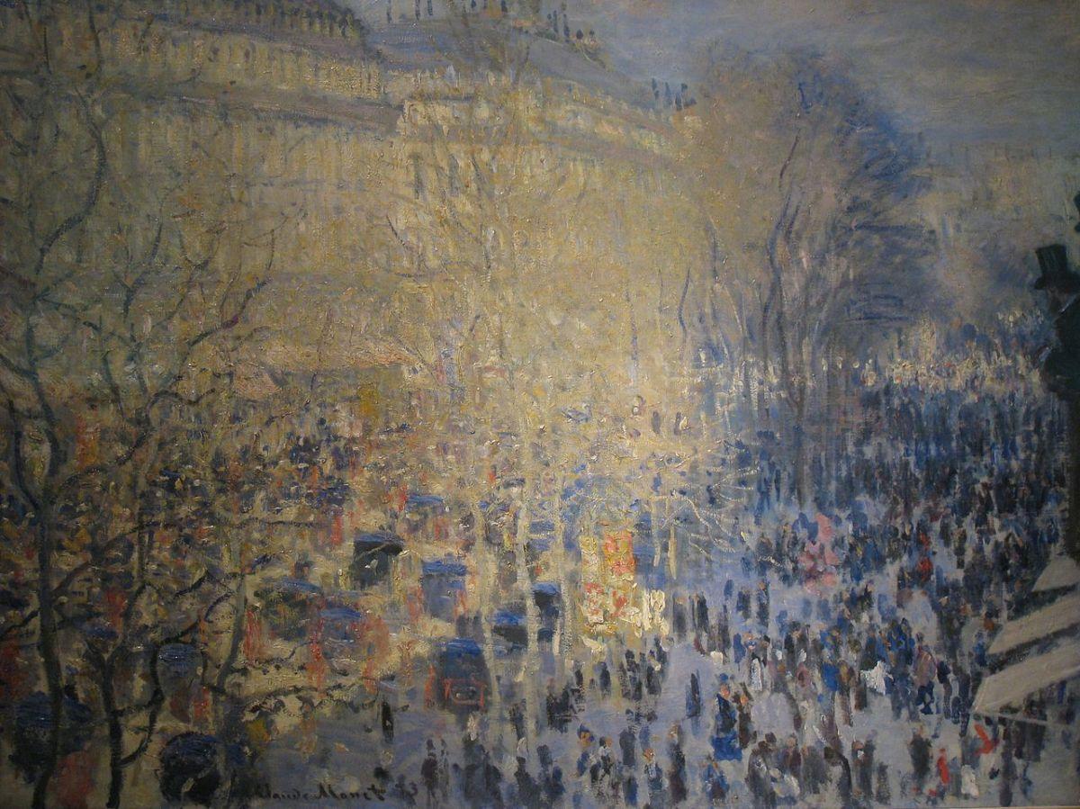 Monet Boulevard Capuchin