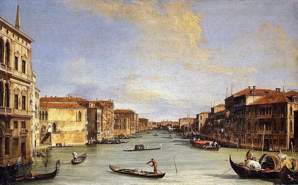 Canaletto. Grand Canal.