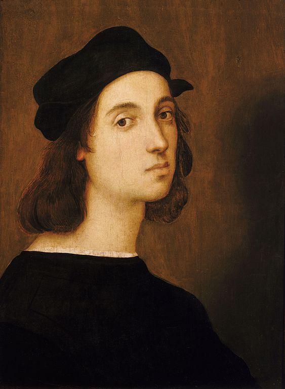 Raphael. Self-portrait.