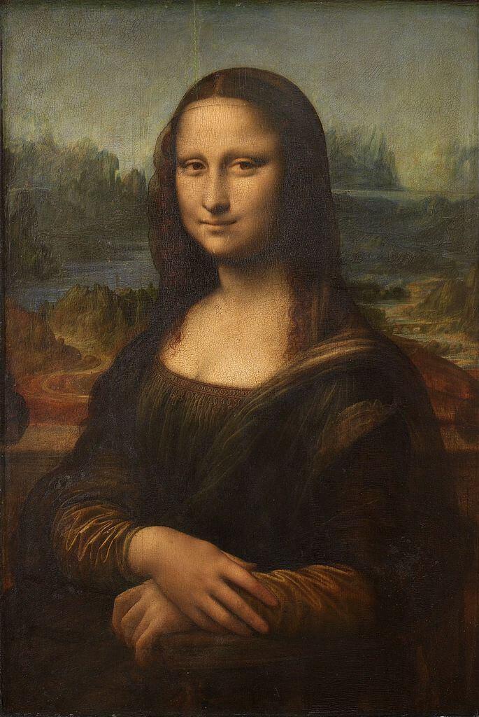 Leonardo da Vinci. Mona Lisa.
