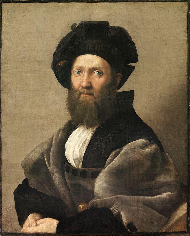 Raphael. Portrait of Baldassare Castiglione.