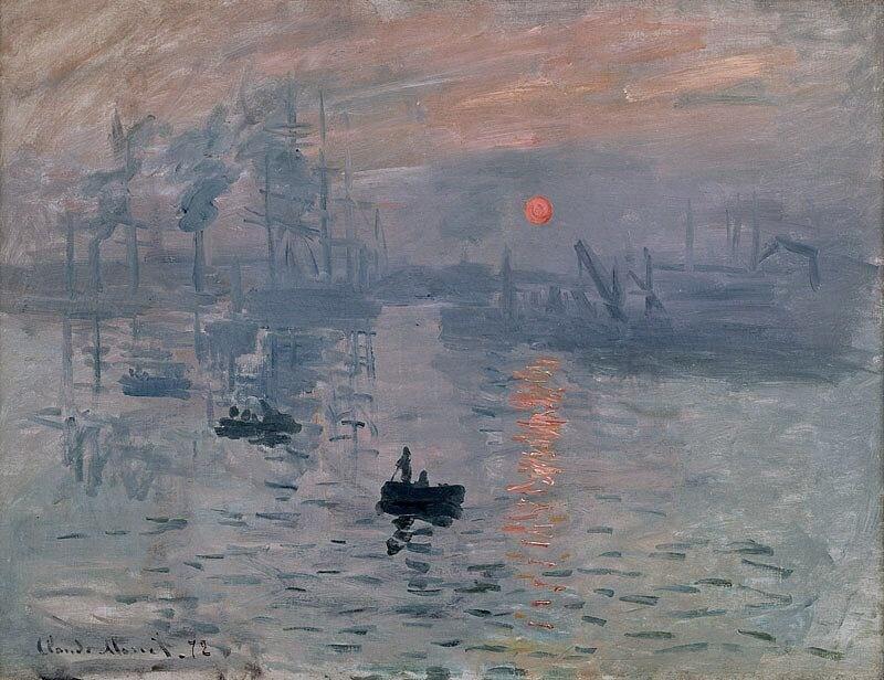 Claude Monet. Impression. Sunrise.