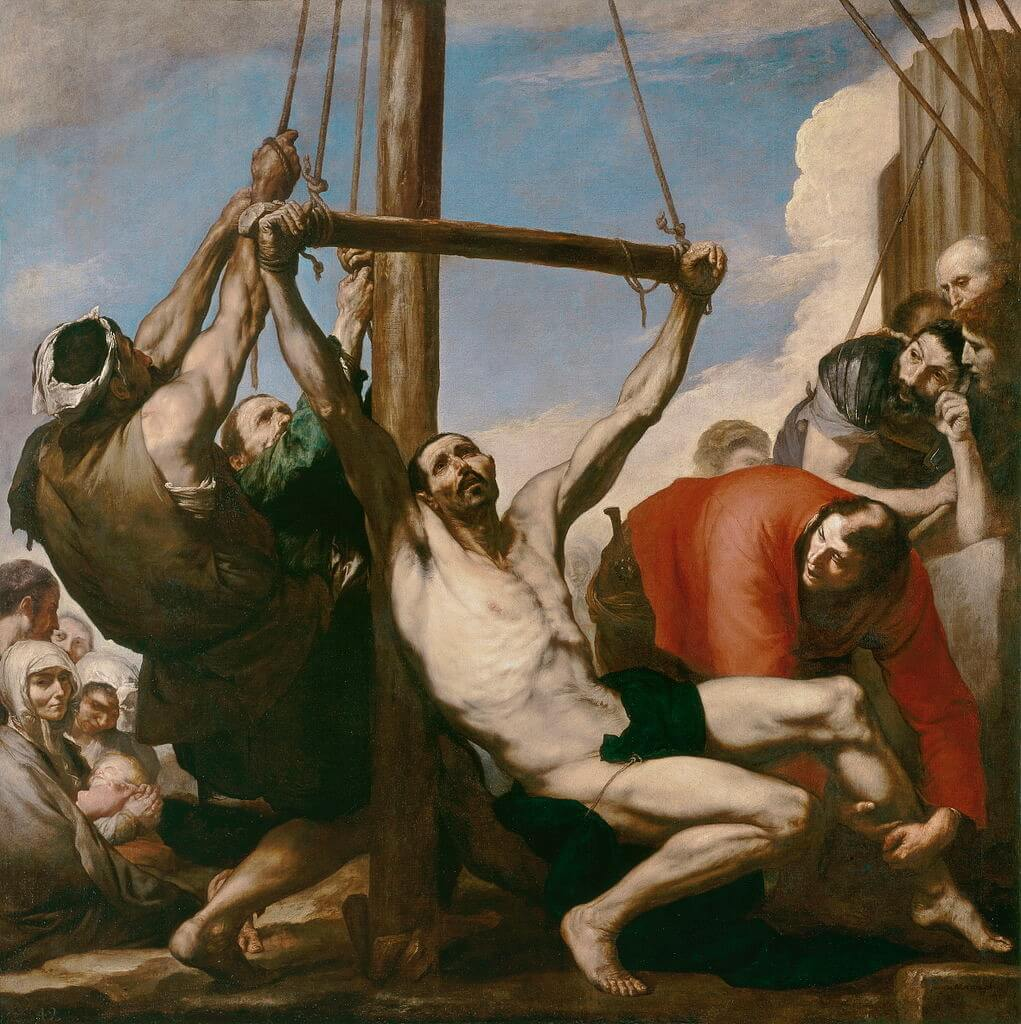 Jose de Ribera. Martyrdom of St. Philip.