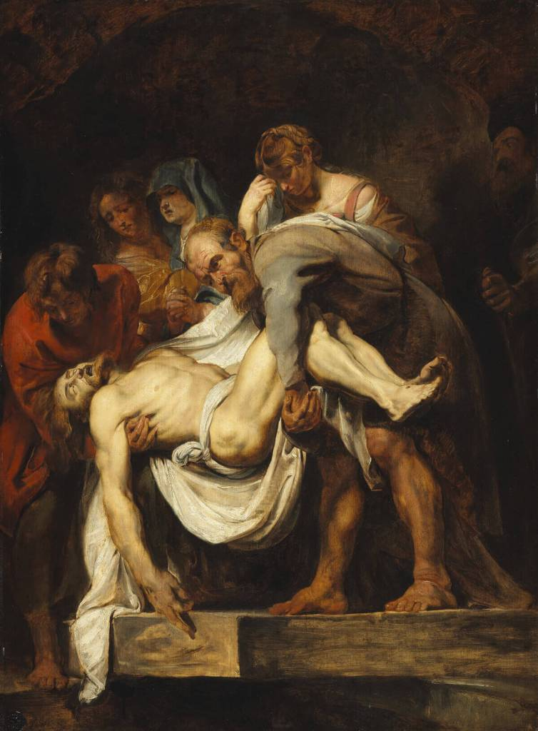 Peter Paul Rubens. Entombment of Christ.