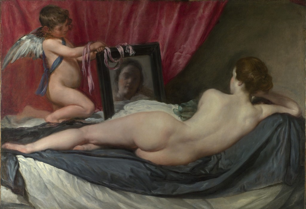Diego Velazquez. Venus at her Mirror.