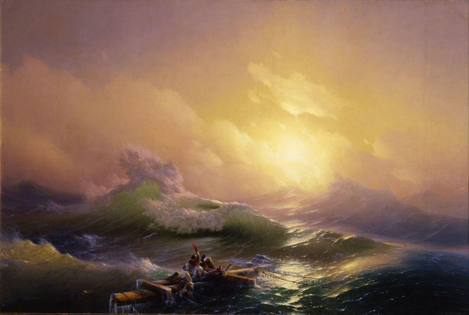 Ivan Aivazovsky. Ninth Wave.