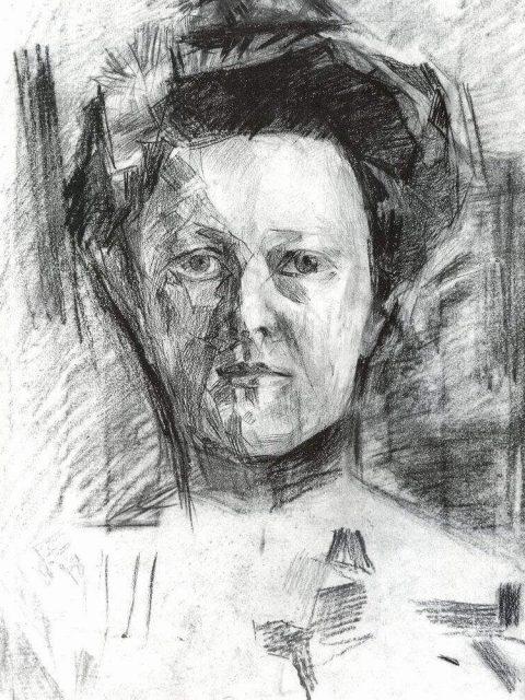 Mikhail Vrubel. Portrait de V.A. Usoltseva.