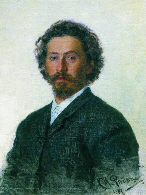 Ilya Repin. Self-portrait.