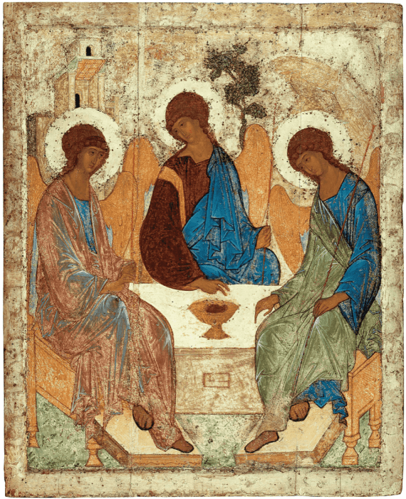 Andrey Rublev. The Holy Trinity