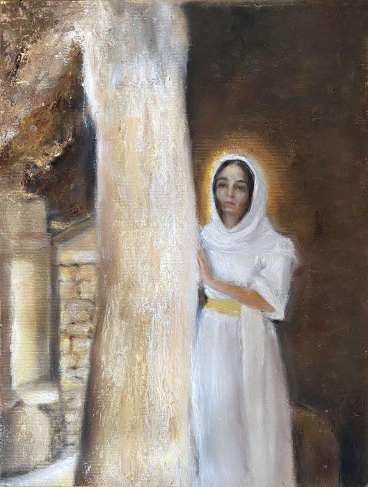 Lamara Mirangi. In the Temple