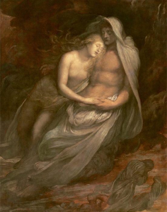George Frederick Watts. Francesca and Paolo. 1870.