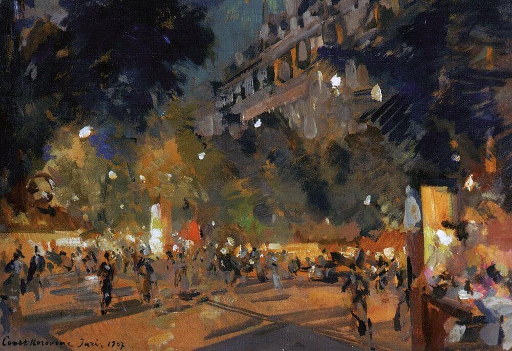 Konstantin Korovin. Paris. 1907.