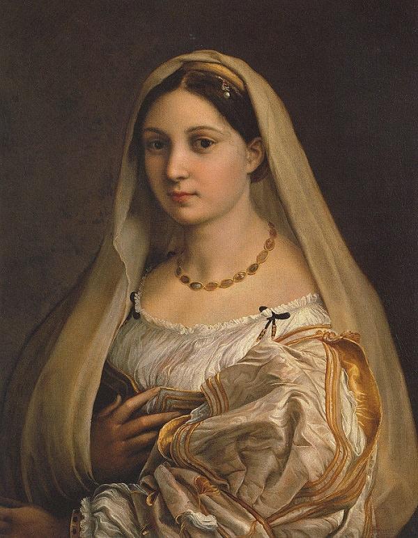 Raphael. Lady with a veil.