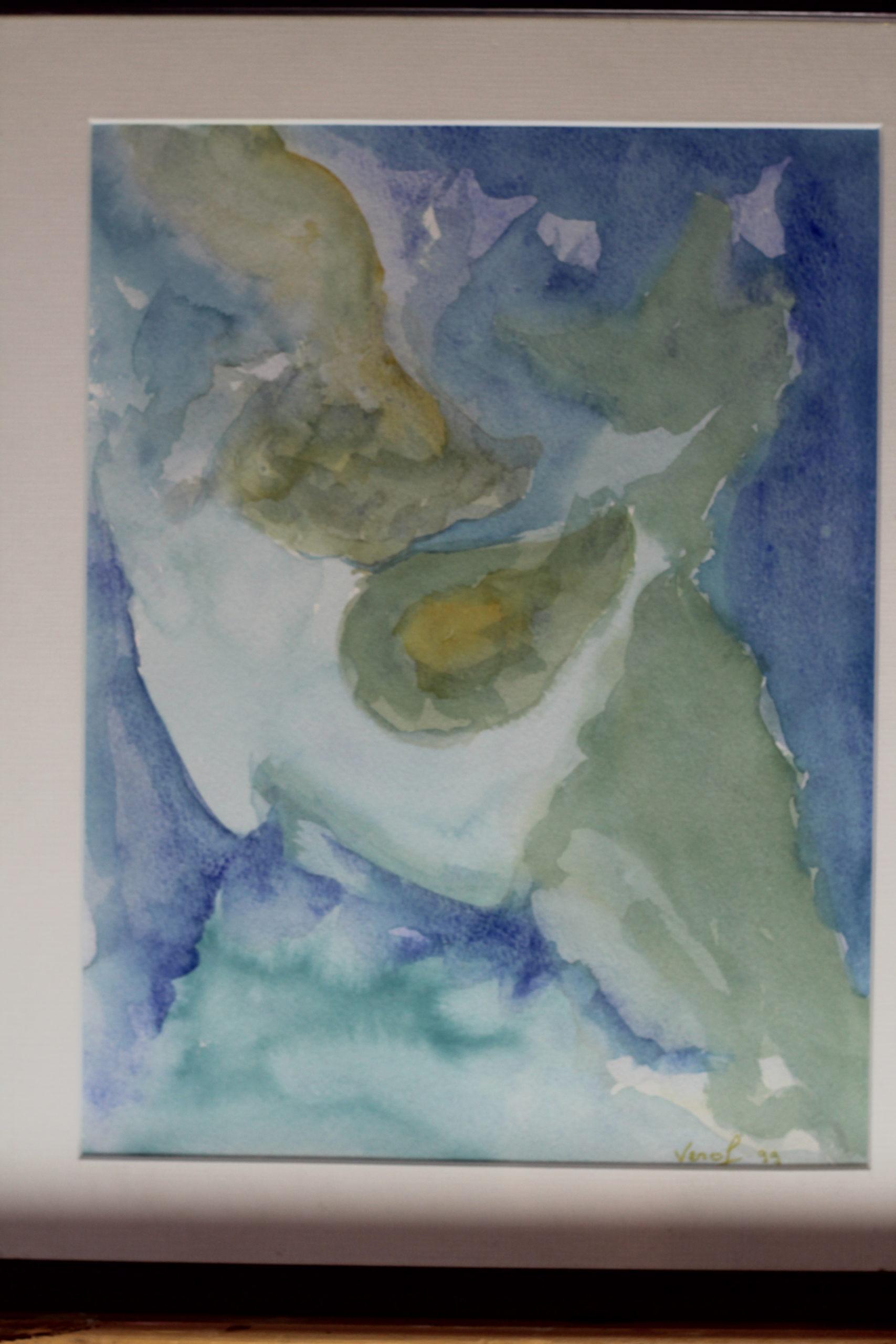 Peinture : Eau aquarelle