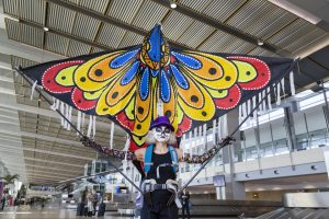 Dia del los Muertos Giant Puppet Parade: Terminal 2, Baggage Claim (Pre-Security) @ San Diego International Airport