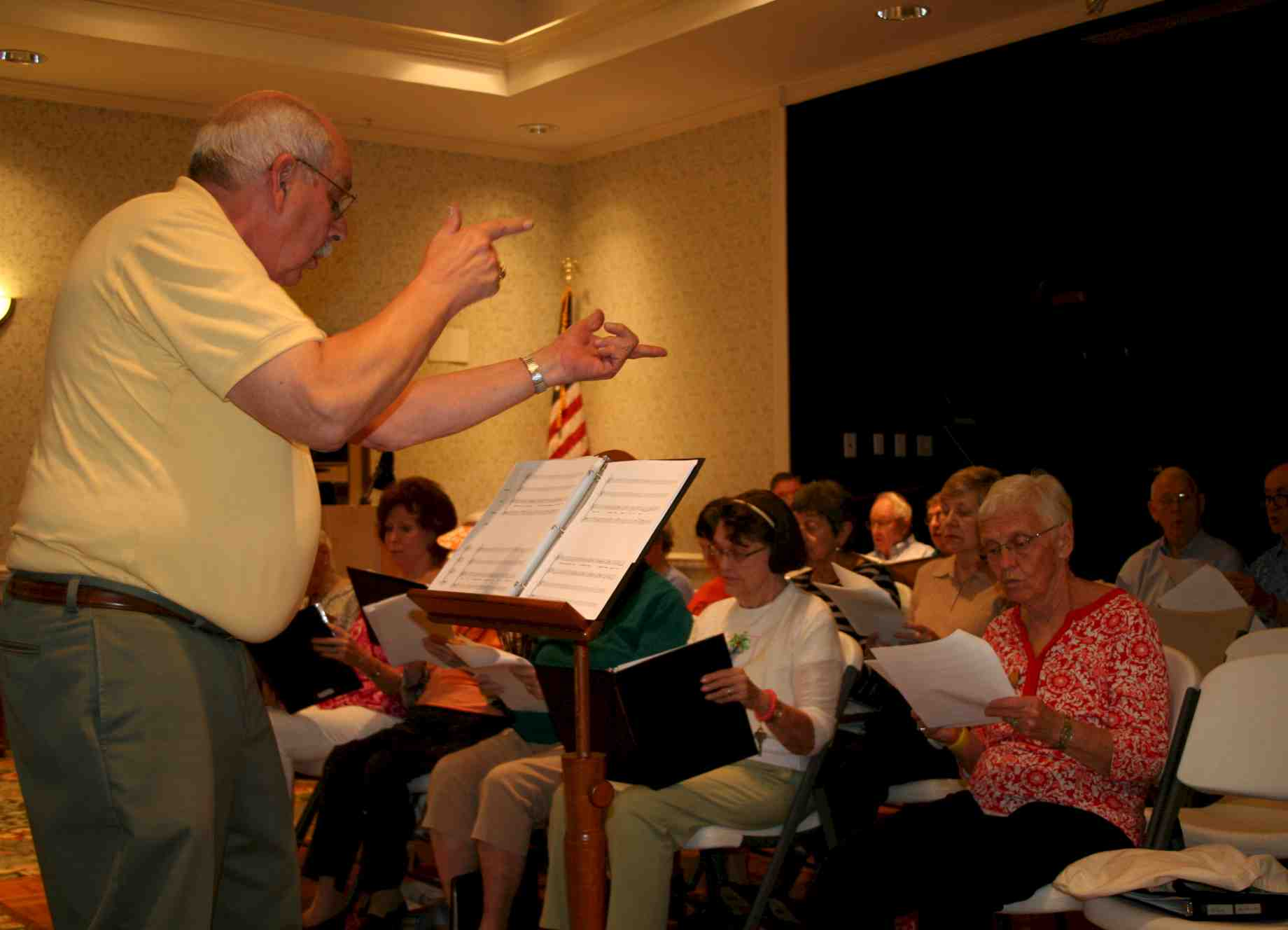 Voice Faculty Help Oak Hammock Singers Find Their Sound