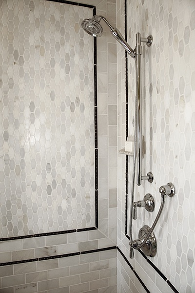 how to use accent tiles tile borders