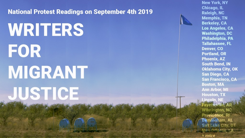 Writers for Migrant Justice, Sep 4, 2019