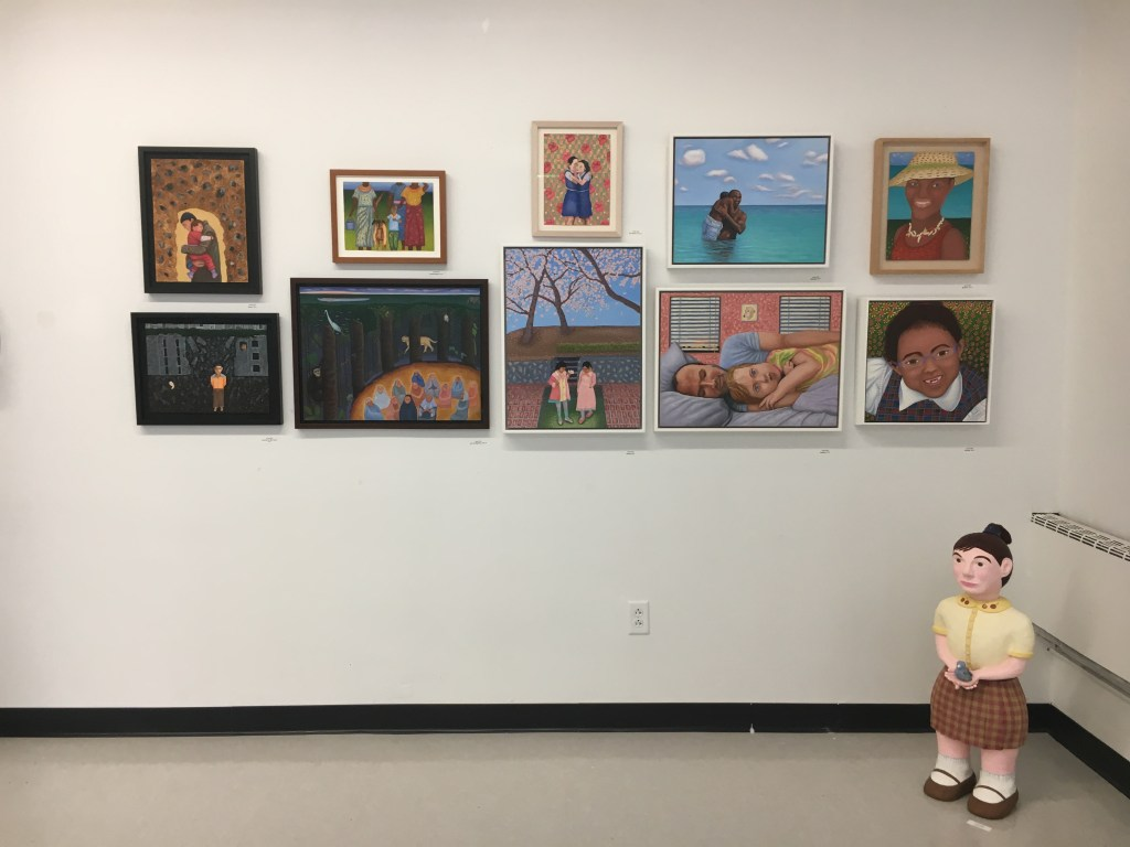 An installation of work by Leslie Sills (Crafts Fellow '95), winner of the 2019 Blanche E. Colman Award.