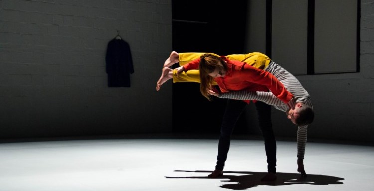 Chris Aiken and Angie Hauser (Choreography Fellows '20).