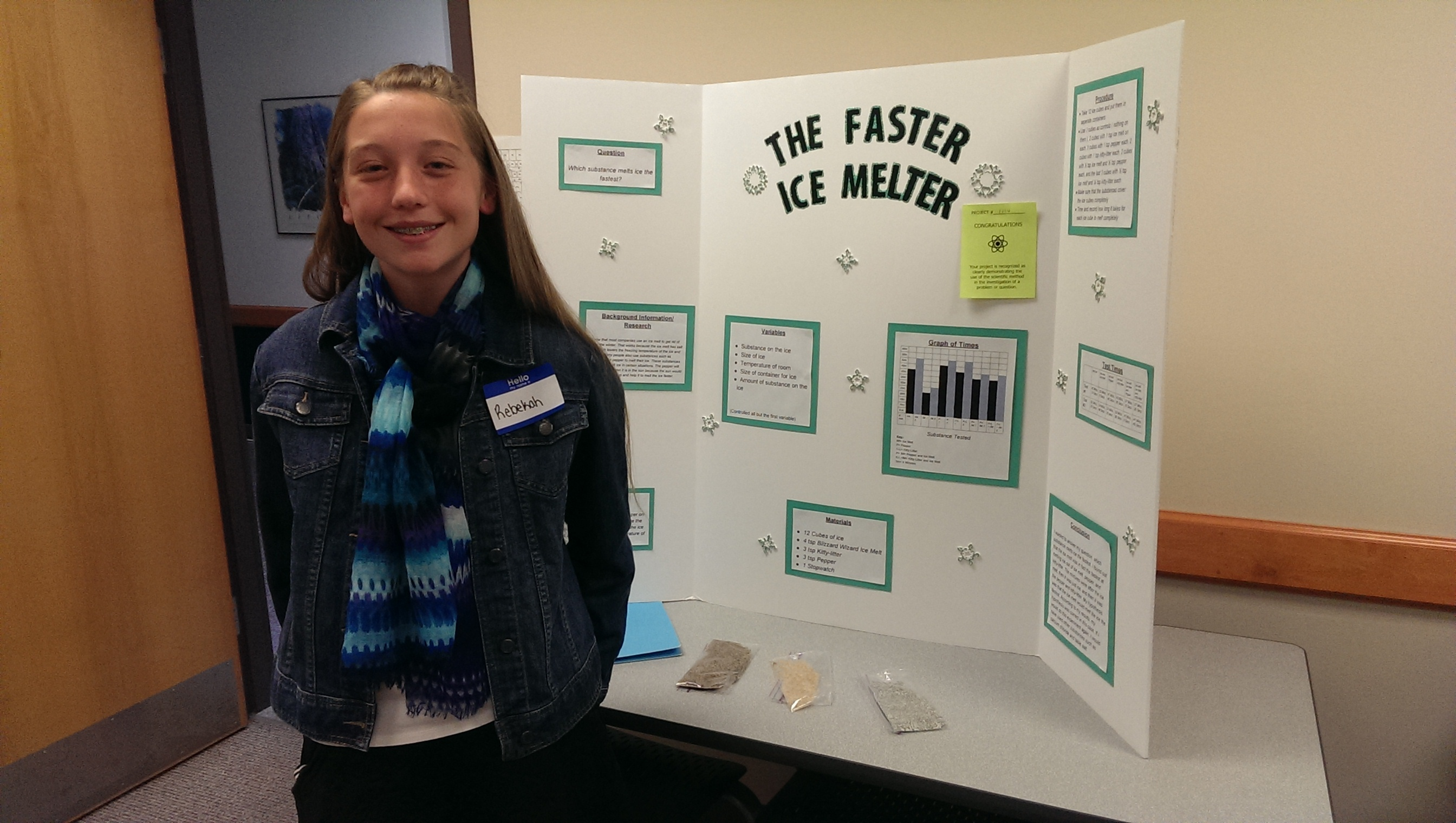 High School Science Fair Projects Winners
