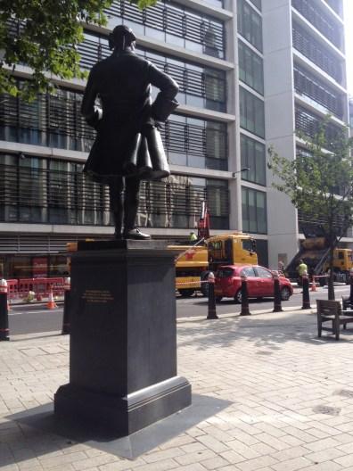 John Wilkes and some unwelcome roadworks