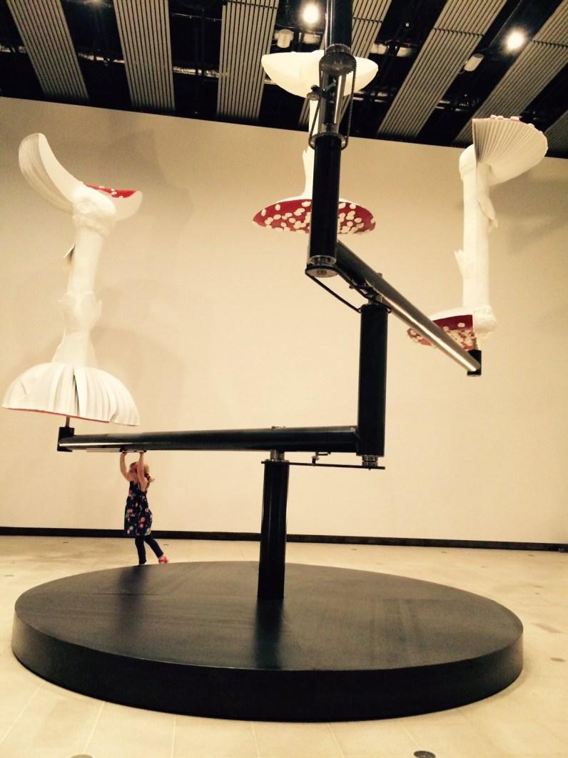 Carsten Holler Flying Mushrooms