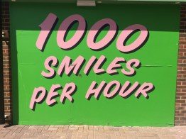 1000 Smiles Per Hour - Part of the unique look & feel created by Hemmingway Design