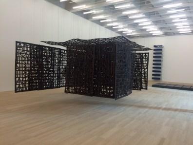 Tate Modern - Christina Iglesias's Suspended Pavilion
