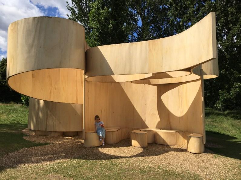 Barkow Leibinger's Summer House at Serpentine Galleries, Kensington Gardens
