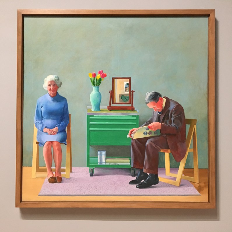 David Hockney My Parents taken in situ at Tate Britain © Phillipa Ellis Arts Aloud