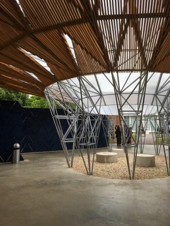 Serpentine Pavilion by Francis Kéré central courtyard © Phillipa Ellis Arts Aloud