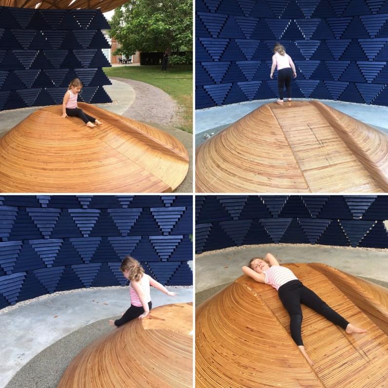 Serpentine Pavilion by Francis Kéré slide © Phillipa Ellis Arts Aloud