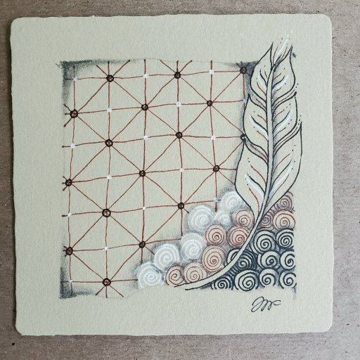 ArtsAmuse Finegogh on Renaissance tile