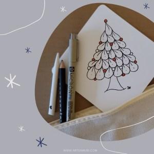 holiday card by artsamuse