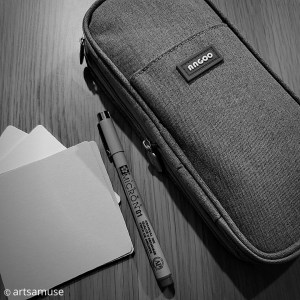 Packing tips to traveling lightly with Zentangle