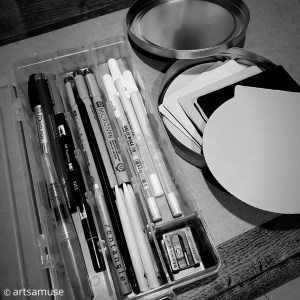 Packing tips to traveling lightly with Zentangle 3
