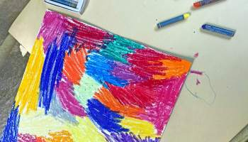 Scratch and Draw Kids Art Project Craft