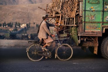 Steve McCurry, The World's ride (Afghanistan)