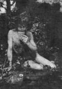 Frank Eugène, Le Chant du Lys (Pan) [exposition Masculin/Masculin à Orsay]