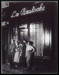 Brassaï, La Bastoche rue de Lappe