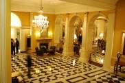 The foyer at Claridges
