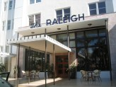 The Raleigh entrance