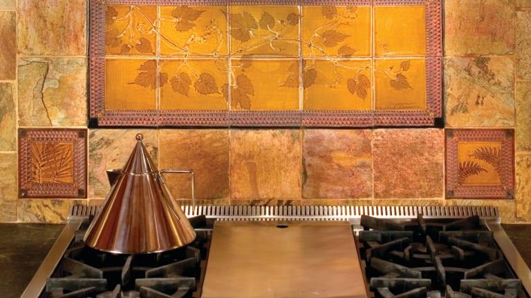 sources for arts crafts tile design