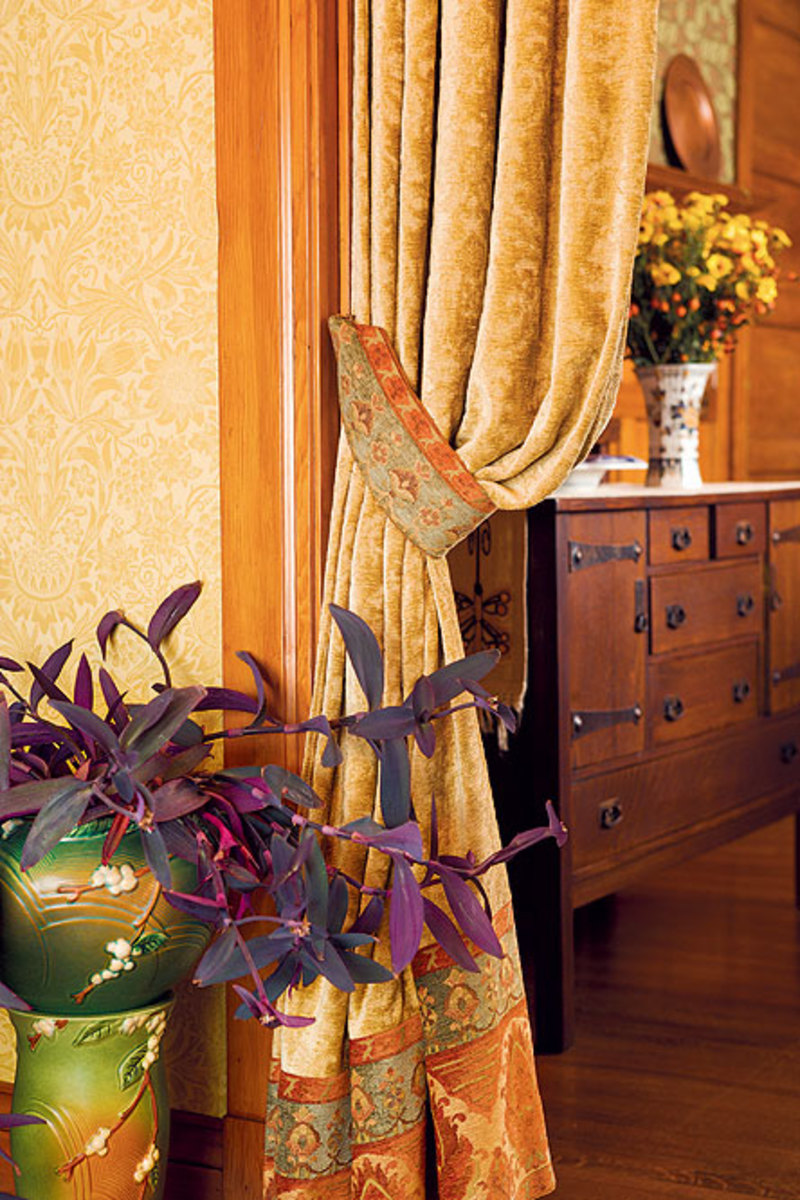 Portieres Or Door Curtains For Houses 1900 1940 Design