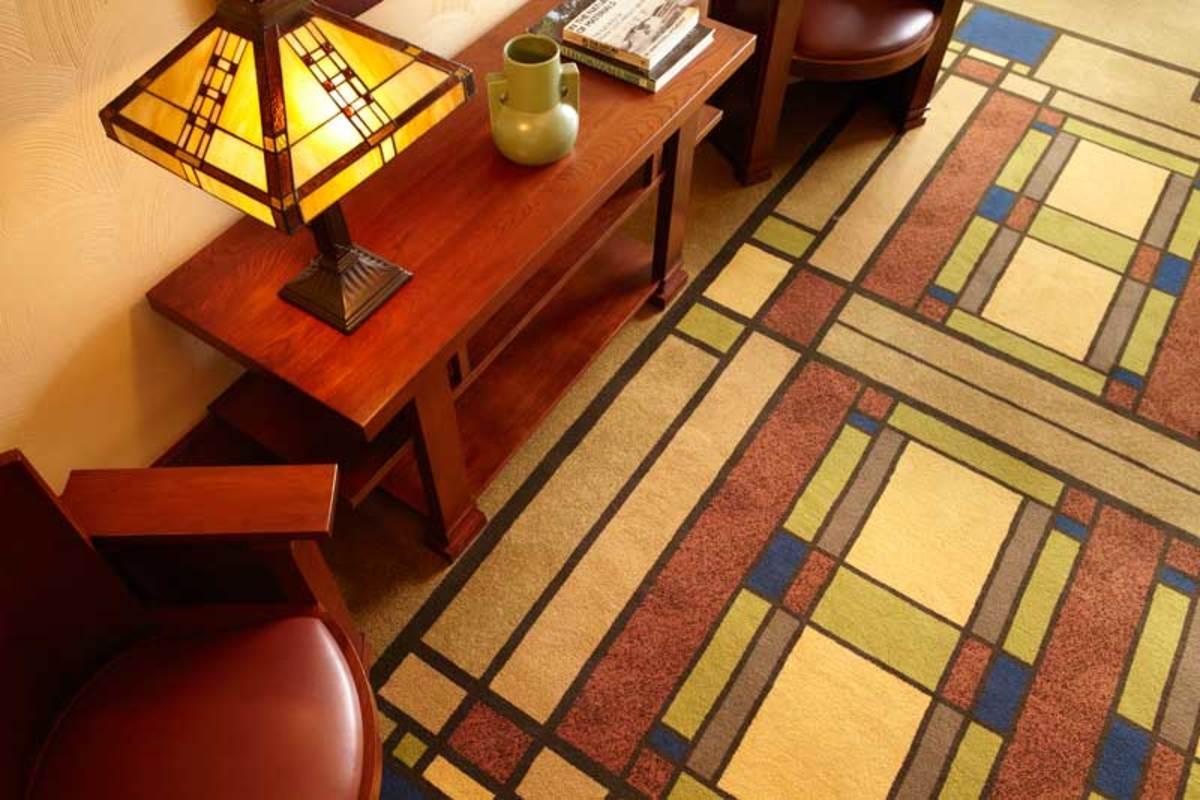 Craftsman Lloyd Style Home Frank Wright