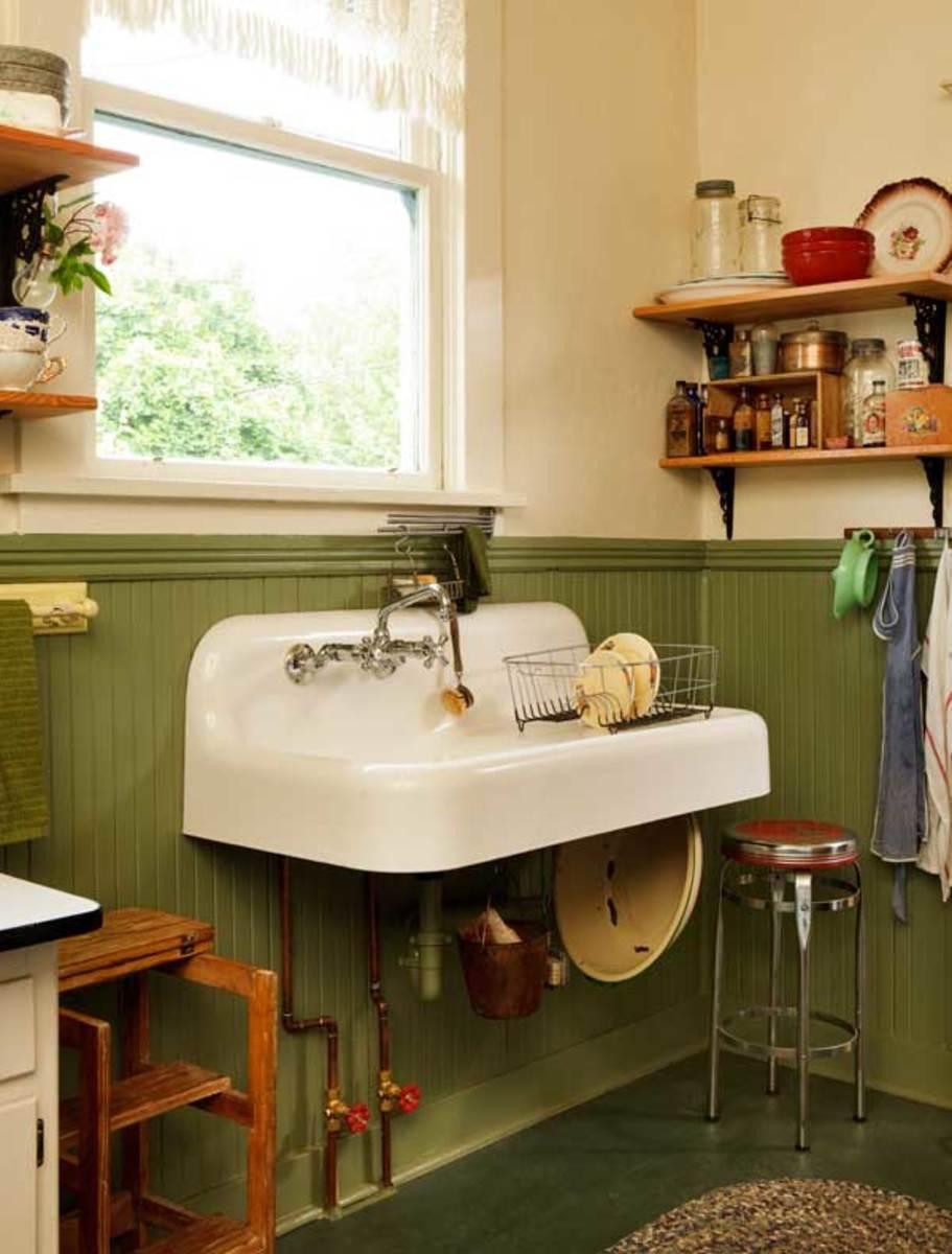 A Simple Vintage Kitchen Restoration Design For The Arts