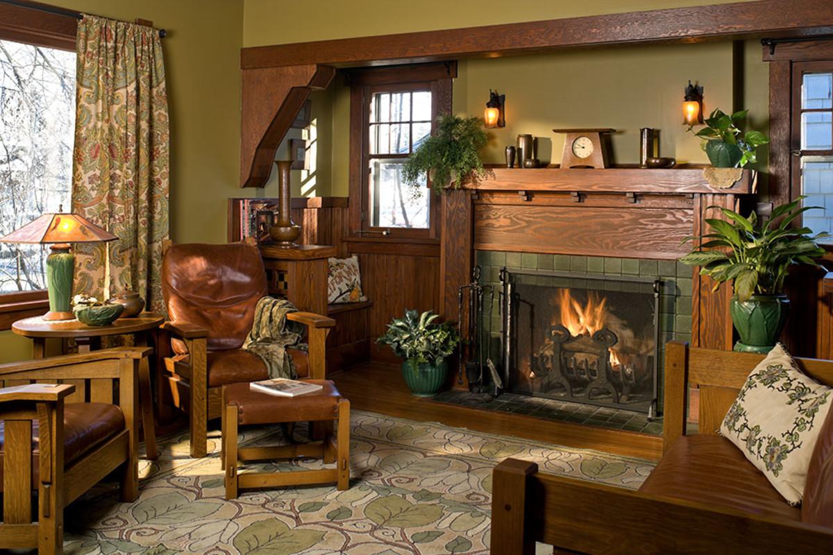 Interior Color Palettes For Arts Crafts Homes Design For