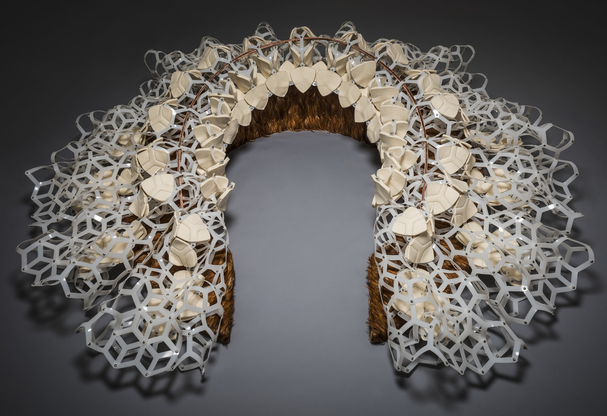 Lace artwork by Annet Couwenberg